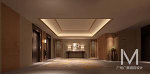 舒适素雅星级大酒店设计(效果图)