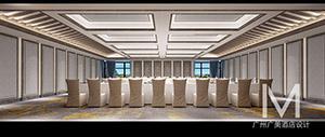 五星级酒店 会议厅设计效果图