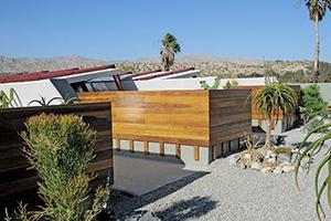 约翰劳特纳在沙漠中的有机建筑设计